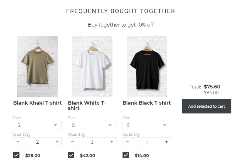 shopify recommended products
