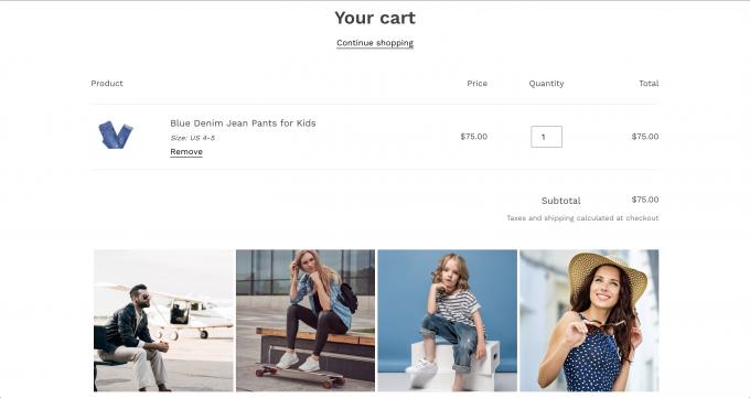 gallery - cart